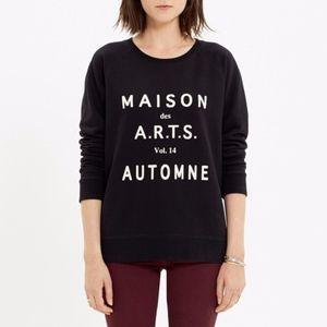 Madewell Maison des A.R.T.S. Sweatshirt Sz Medium